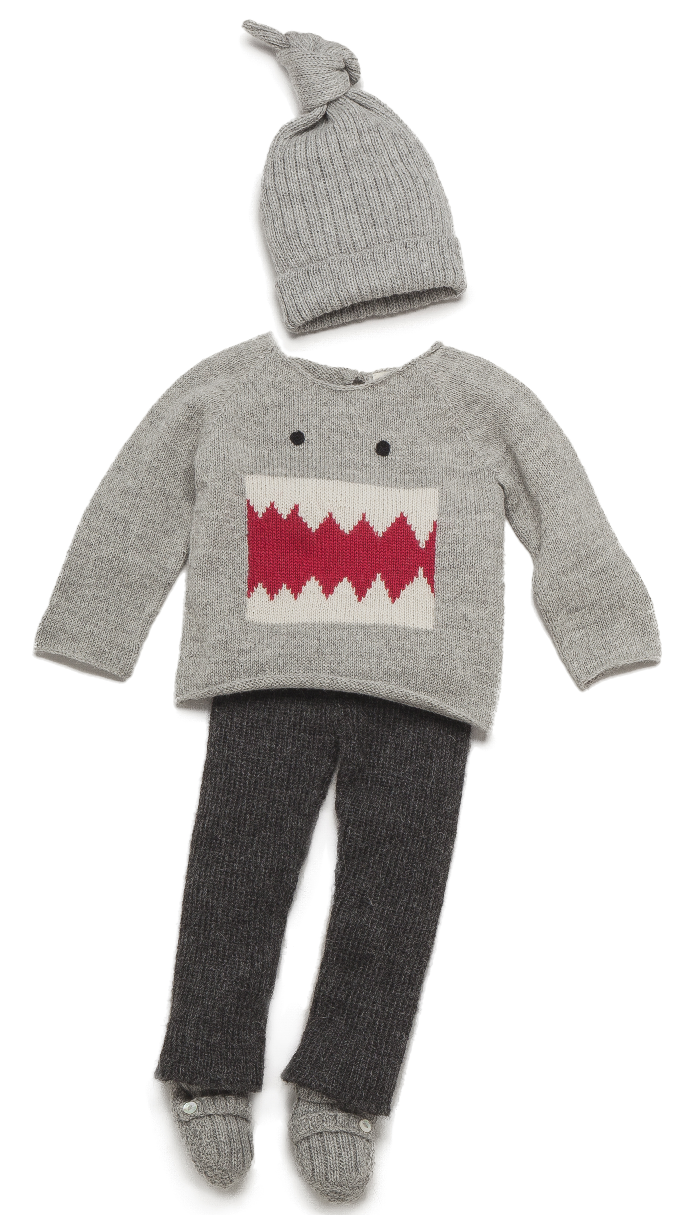 Oeuf Monster Sweater 60